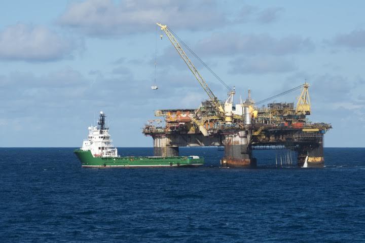 oil rig brazil